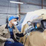 productos trabajo de pintura de carrocerías de coche